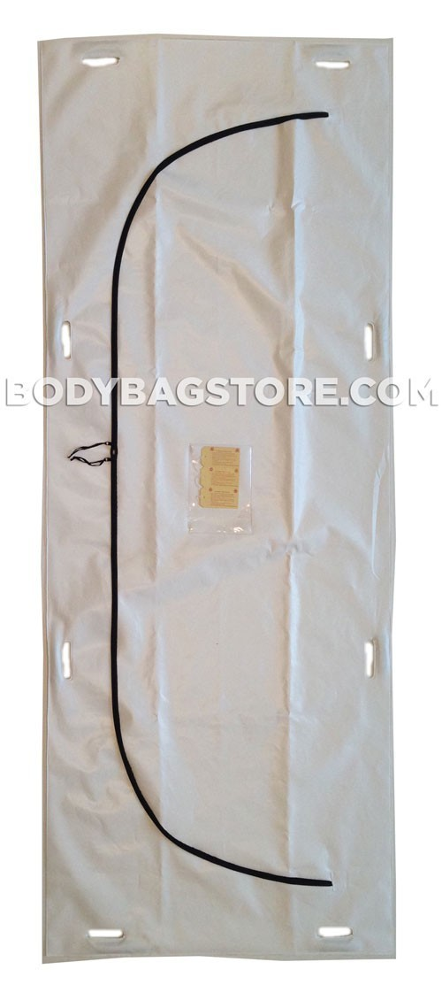 Outbreak Response Body Bag - 16 Mil / 400 Micron - 8 Handle - Adult Size
