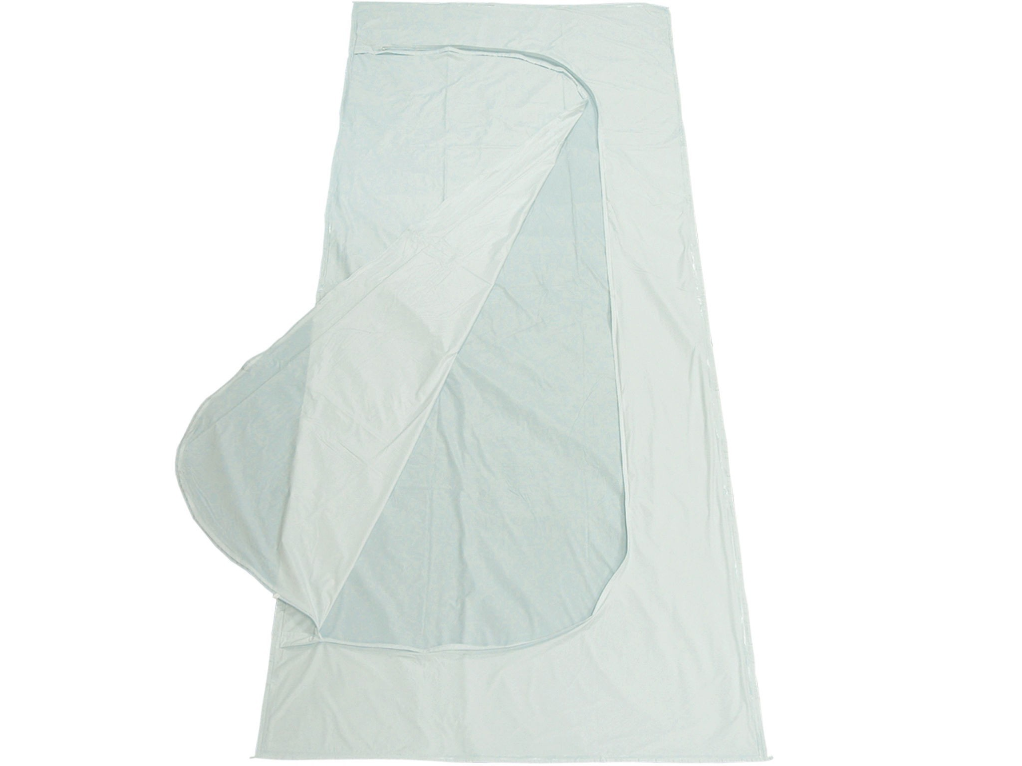 Standard White PEVA Chlorine-Free Body Bag - Adult Size
