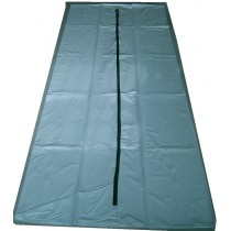 White Maricopa County Spec Body Bag - Straight Zipper - Bariatric Size