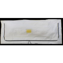 Standard White PEVA Chlorine-Free Body Bag - Child Size