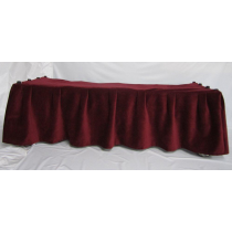 FirstCall Church Truck Drape Burgundy