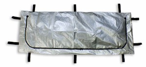 Silver Chlorine-Free Disaster Bag - 10 Handle - Adult Size