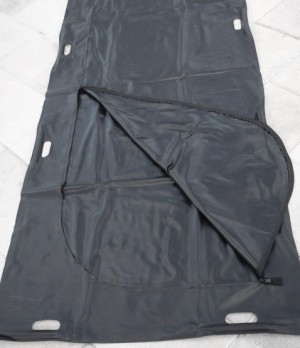 Black Disaster Bag - 8 Built In Handles - Adult Size - Sold Individually