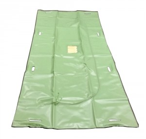 Green Disaster Bag - 8 Built In Handles - Adult Size