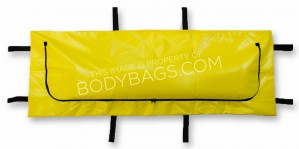 Yellow Disaster Bag with Inner Liner - 6 Handle - Adult Size